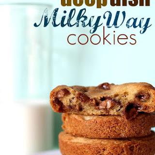 Deep Dish Milky Way Cookies