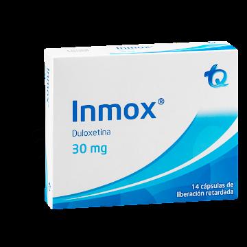 Inmox 30Mg Cápsulas Caja   X14Cap. Tq Duloxetina