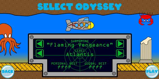 Undersea Odyssey  captures d'écran 1