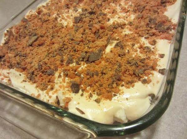 Butterfinger Dessert. Recipe