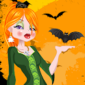 Dress Up Halloween Girl icon