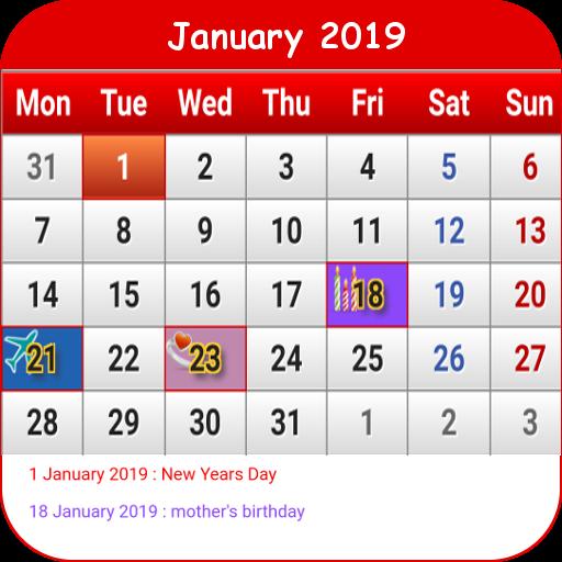 Hong Kong Calendar Aplikasi Di Google Play