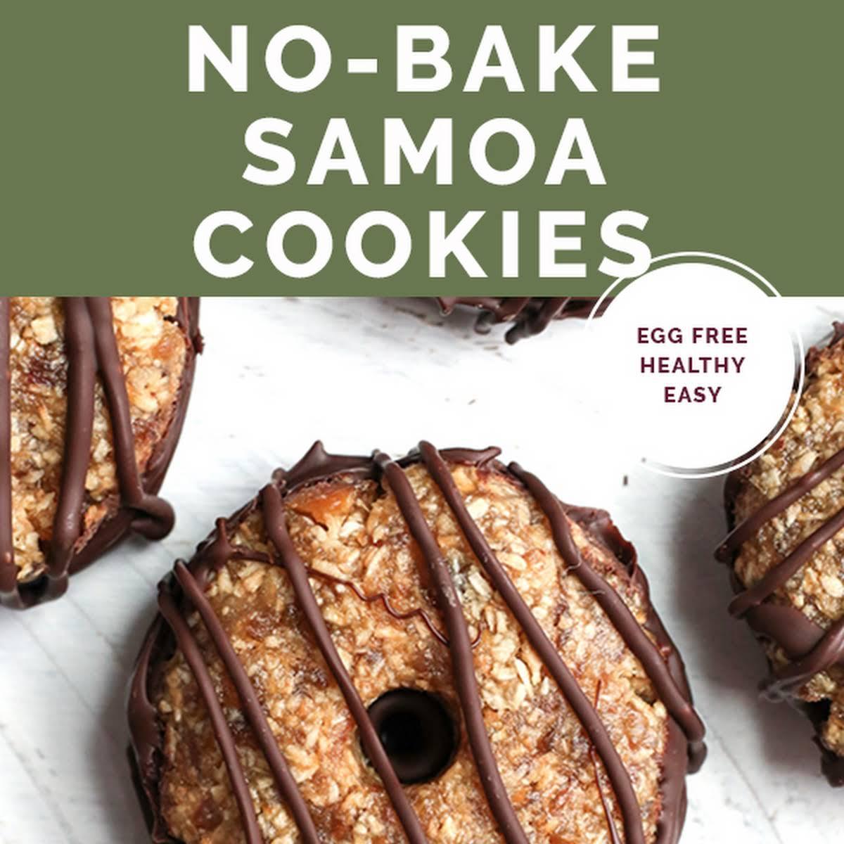 Paleo Vegan Samoa Cookies