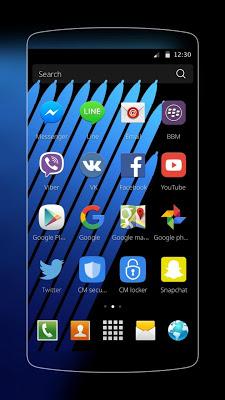 Note 7 Theme - screenshot