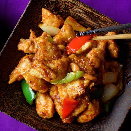 Cashew Chicken w/ Jasmine Rice