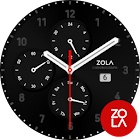 Modern Black Watch Face icon