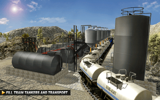玩免費模擬APP|下載Oil Tanker TRAIN Transporter app不用錢|硬是要APP
