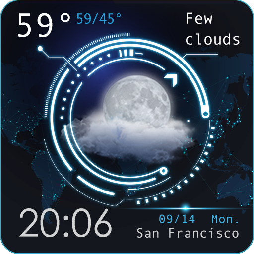 Weather - Galaxy🌌 Icon