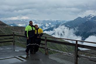 Photo: At the Stelvio pass
