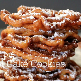 ~Apple Pie Funnel Cake Cookies!
