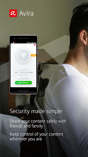 Avira Phantom VPN: Free & Fast VPN Client & Proxy 2.0.13 screenshots 1