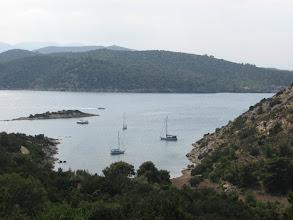 Photo: Poros outer anchorage