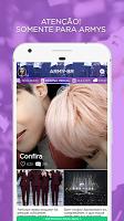 screenshot of ARMY Amino para BTS em Português