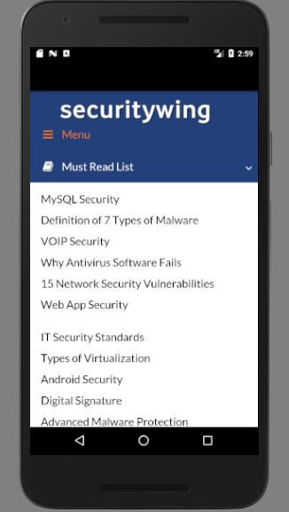 securitywing- screenshot