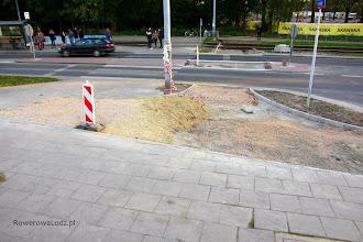 Photo: Przejazd przez ul. Pomorską i rozwidlenie.