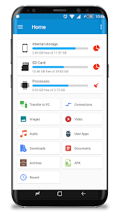 GiGa File Manager - File Explorer Screenshot