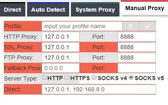 Proxy Switcher