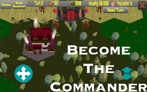 Keep Commander - Turn Based Strategy - screenshot
