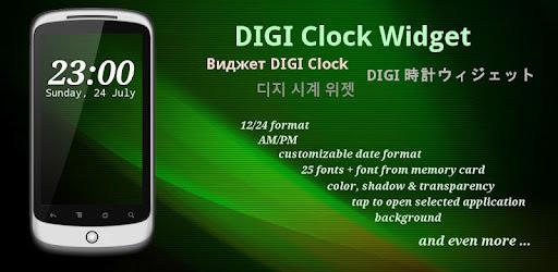 Clock Google Digi Widget Play App Su qpSUzVGM