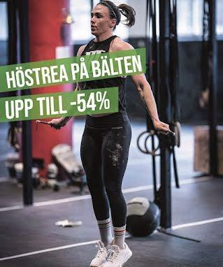 träningsbälte upp till 54%
