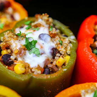Cook Once Eat Twice Crockpot Stuffed Peppers And Tacos