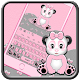 Cute Pink Panda Keyboard Theme for PC-Windows 7,8,10 and Mac
