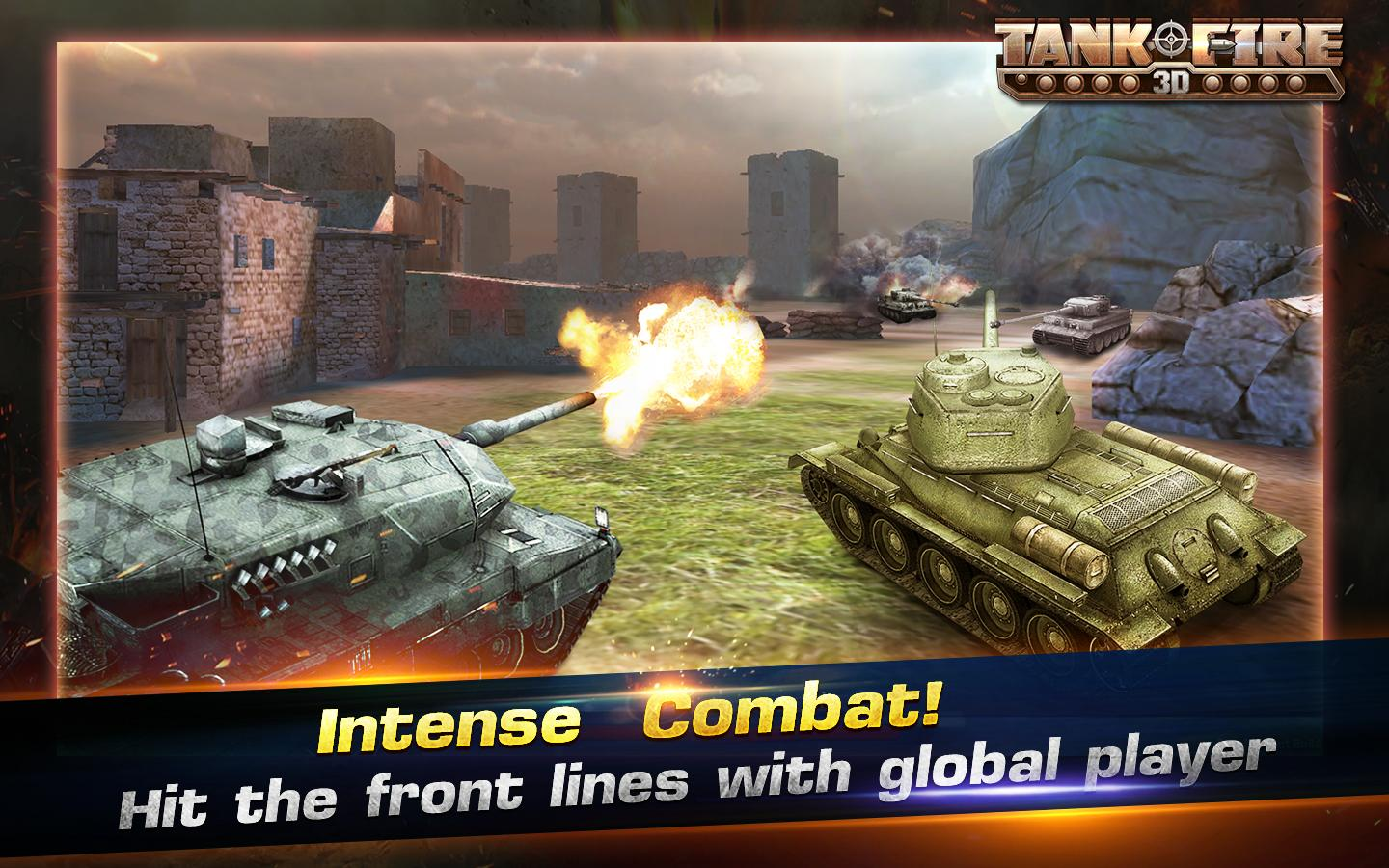 Tank Fire 3D- screenshot