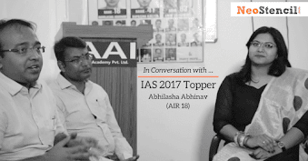 IAS Topper's Interview - Abhilasha Abhinav (AIR-18, CSE 2017)