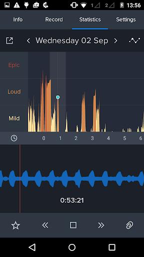 鼾声分析器 : 记录并跟踪你的鼾声