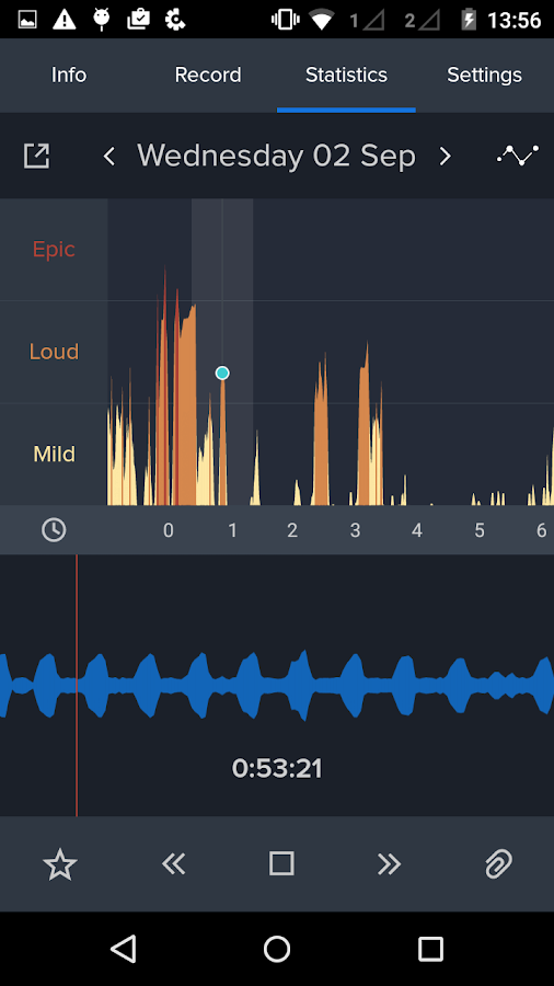 SnoreLab : Record Your Snoring- screenshot