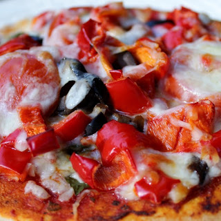 Homemade Individual pizzas