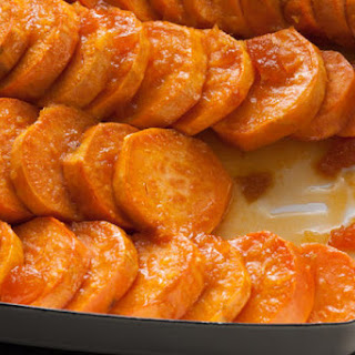 Baked Ginger Sweet Potatoes