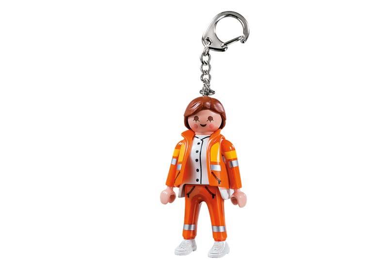 Contenido real de Playmobil® 6666 Llavero Servicio de Emergencias