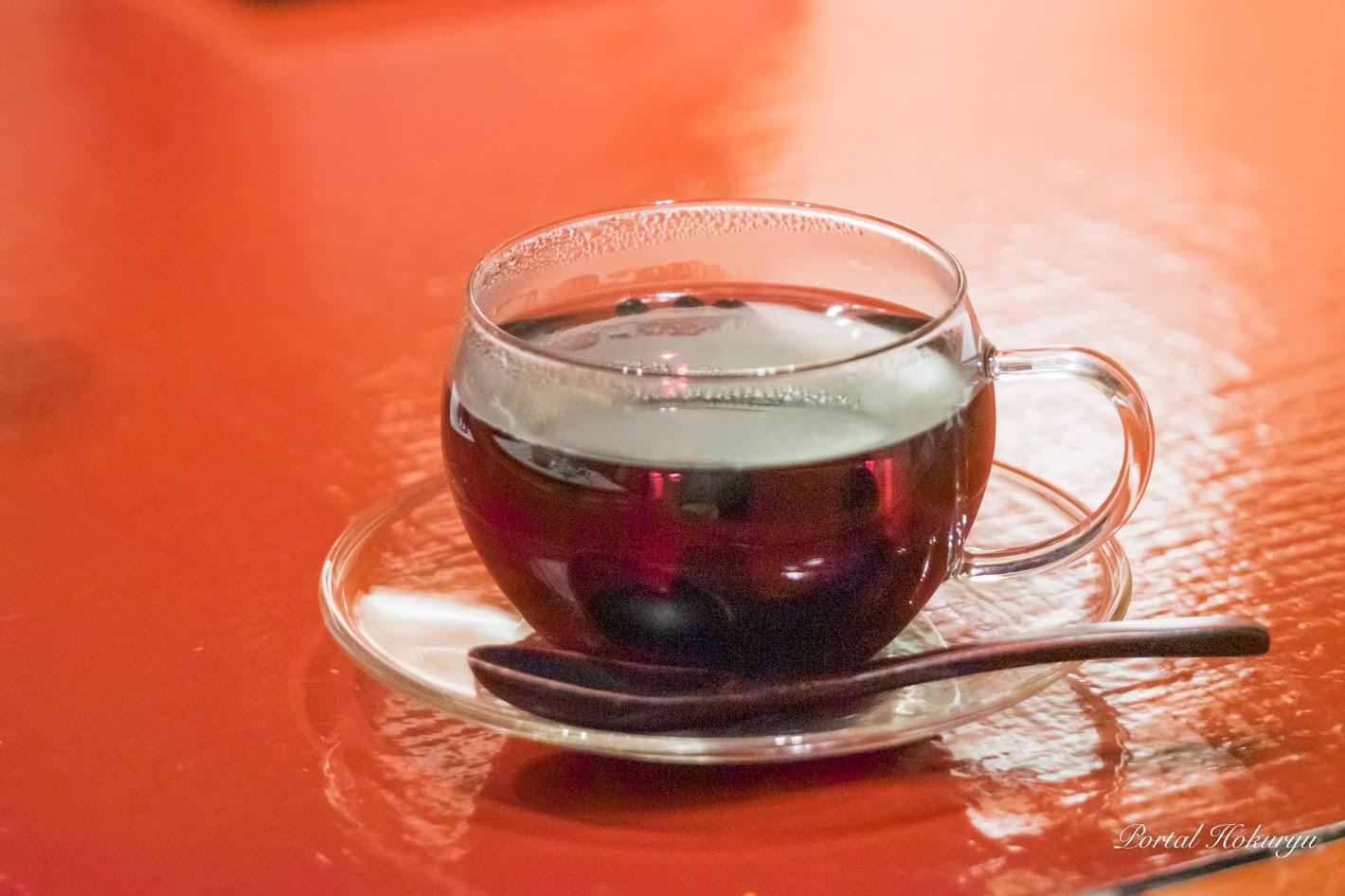 黒千石大豆の黒豆茶