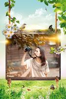 screenshot of Garden Photo Frame - Photo Editor - Photo Collage