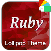Ruby XperiaN Lollipop Theme