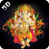 5D Ganesha Live Wallpaper