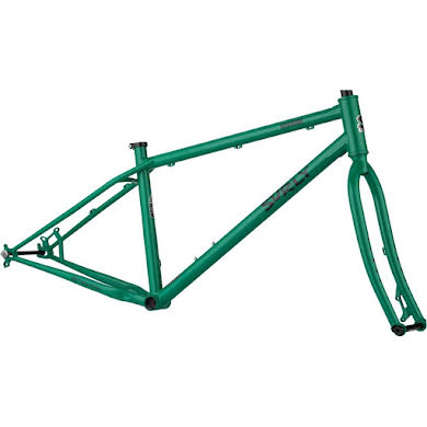 "Surly Lowside 27.5"" Frameset - Green Astro Turf"