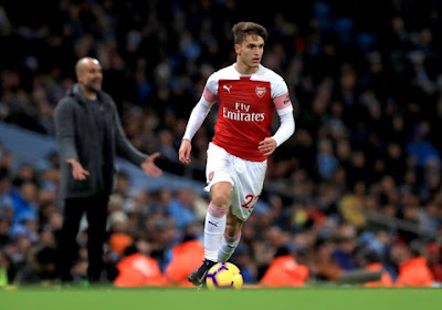 Fin de saison pour un joueur d'Arsenal