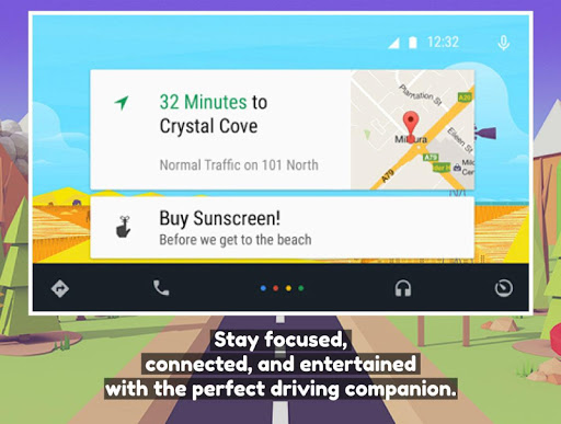Guide for Android Auto Maps App screenshots 1