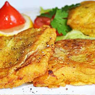 Fried Pollock Fillets in Batter