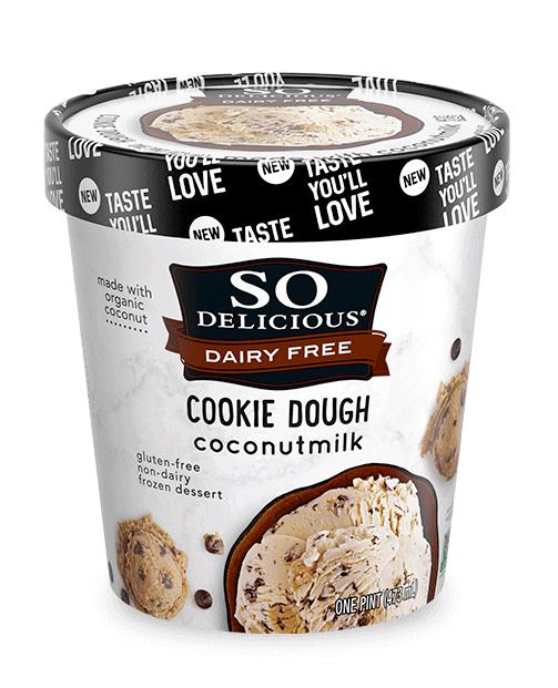 Cookie Dough Coconut Milk Ice Cream