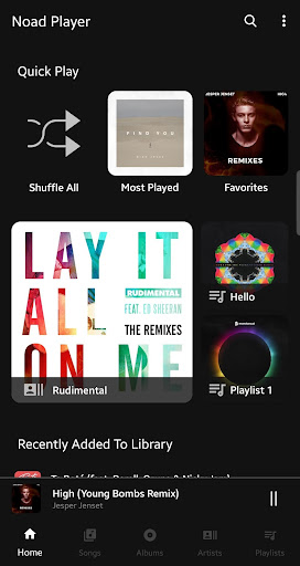 Noad Music Player (open-source) 0.9.51 screenshots 1