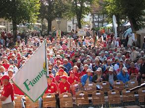 Photo: Schlusskundgebung des 111. Deutschen Wandertages
