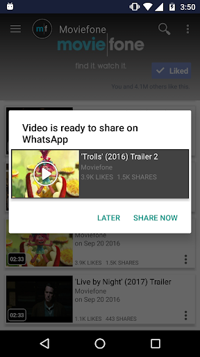 Just Video Feeds for Facebook to explore Videos 4.180926 screenshots 2