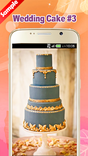 Wedding Cake Ideas & Wallpaper - náhled