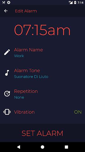 Peaceful Wake-Up - Gentle Alarm Clock - Calm Soft screenshots 2