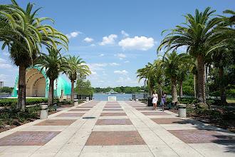 Photo: Orlando, Lake Eola, Innenstadt