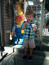 Photo: Finn is a Lego Guy