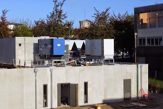 Photo: Vue générale DC - Groupes électrogène #datacenter #reims (Visite de chantier 16.10.2014)